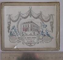 Carte Porcelaine Namur Ornements H. Boulanger - Cartoline Porcellana