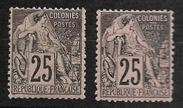 Colonies Générales N° 54 Et 54a       Neufs *    B/ TB  Bien Centrés    .soldé à Moins De  10 %   ! ! ! - Alphée Dubois