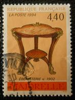 2856 France 1994 Oblitéré  Ebénisterie De Majorelle - France
