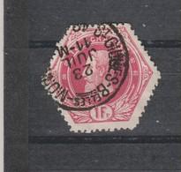 COB 6 Oblitération ST-GILLES BRUX. Belles Monnaies - Telegraphenmarken