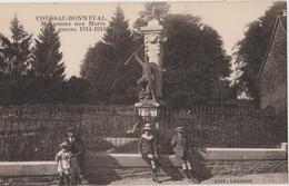COUSSAC BONNEVAL (87) CPA - Le Monument Aux Morts De La Guerre 1914 - 1918 - Other Municipalities