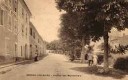 04 - GREOUX Les BAINS - Avenue Des Marronniers  Gendarmeris Nationale - Gréoux-les-Bains