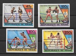 Niger Série Complète Non Dentelée Imperf JO 80 ** - Verano 1980: Moscu