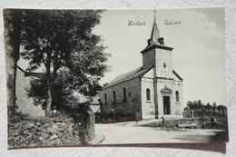 CPA HOCKAI Région Francorchamps Spa Stavelot Eglise Kerk Ardenne - Stavelot