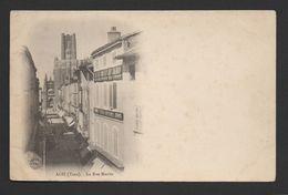 CPA  81  ALBI  -  La Rue Mariès - Albi