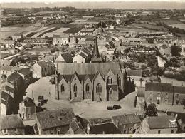 44 - SAINT ST HERBLAIN -  Vue Aerienne De L'église Et Le Bourg  (cpsm Gf )   187 - Saint Herblain