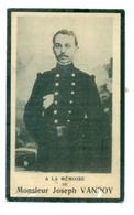 WO1 / WW1 - Doodsprentje Vanroy Joseph - La Louvière / Luik - Gesneuvelde - Décès