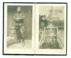 WO1 / WW1 - Doodsprentje Gheyskens Henri - Diest / Woesten - Gesneuvelde - Todesanzeige