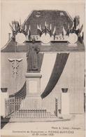 PIERRE BUFFIERE (87) Monument Du Centenaire De DUPUYTREN 21/28 Juillet 1935 - Pierre Buffiere