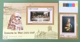 Vietnam Viet Nam MNH Perf Stamp & Souvenir Sheet 2019 : 500th Death Anniversary Of Leonardo Da Vinci (Ms1117) - Vietnam