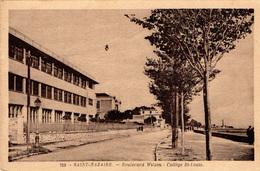 Boulevard Wilson - Collège St-Louis - Saint Nazaire