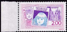Frankreich, 1988, Mi.Nr. 2664, MNH **,  Exposition De Timbres De La Jeunesse, Nevers. - Unused Stamps