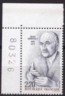 Frankreich, 1988, Mi.Nr. 2669, MNH **, Jean Monnet. - Unused Stamps