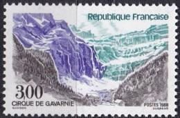 Frankreich, 1988, Mi.Nr. 2683, MNH **,  Tourisme : Le Bassin De Gavarnie - Unused Stamps