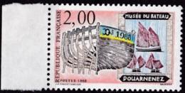 Frankreich, 1988, Mi.Nr. 2684, MNH **, Tourisme : Expositions Au Musée De La Mer, Douarnenez - Unused Stamps