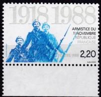 Frankreich, 1988, Mi.Nr. 2685, MNH **, Beendigung Des Ersten Weltkrieges - Unused Stamps