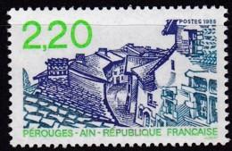 Frankreich, 1988, Mi.Nr. 2686, MNH **,  Tourisme : Vue Locale De Pérouges - Unused Stamps