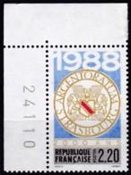 Frankreich, 1988, Mi.Nr. 2688, MNH **, 2000 Ans De La Ville De Strasbourg - Unused Stamps