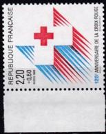Frankreich, 1988, Mi.Nr. 2693 A, MNH **,  Croix-Rouge. - Unused Stamps