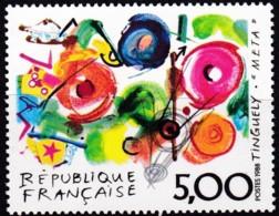 Frankreich, 1988, Mi.Nr. 2694, MNH **,  Art : Peintures De Jean Tinguely - Unused Stamps