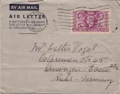 GROSSBRITANNIEN - AEROGRAMME 1948 ST. ALBANS - HEISINGEN /ak656 - Interi Postali