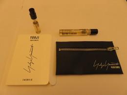 Echantillon ,tube Sur Carton Yohji Yamamoto - Parfums - Stalen