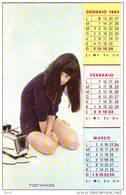 Pin-Up Calendario Gennaio-Giugno  1964 (pieghevole) - Calendars