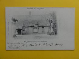 """Kalmthout , Calmpthout : Souvenir """" La Ferme De L'hotel Des Chasseurs """" 1905 - Kalmthout"""