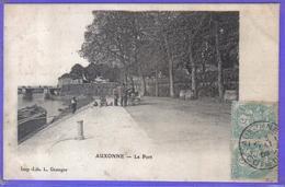 Carte Postale 21. Auxonne  Le Port  Très Beau Plan - Auxonne