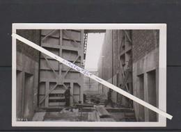 KWAADMECHELEN-ALBERTKANAAL-OPBOUW-SLUIS-BINNENVAART-PENICHES-FOTO-21.03.1939-ZIE DE 2 SCANS-UNIEK ARCHIEFSTUK ! ! ! - Ham