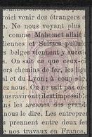 France   Timbre Pour Journaux  N° 7  Oblitéré Sur Fragment   B/TB     Soldé  Le Moins Cher Du Site ! ! ! - Journaux