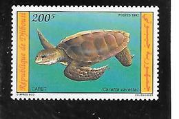 TIMBRE NEUF DE DJIBOUTIDE1992 N° MICHEL 575 - Djibouti (1977-...)