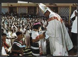 BISHOP'S ORDINATION - ASSAM - INDIA - VIAGGIATA DA FIRENZE 1970 - Altri