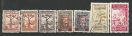 TURQUIE 1934/1935  - 7 Timbres Lot 38 Tous Differents Voir DETAIL ANNONCE - Turquie