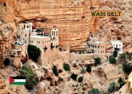 Palestine Wadi Qelt Monastery New Postcard Palästina AK - Palästina