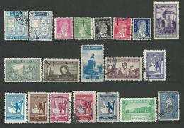 TURQUIE 19340/1941  - 20 Timbres Lot 40 Tous Differents Voir DETAIL ANNONCE - Turquie