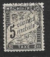 France   Taxe  N°14  Oblitéré    B/TB     Soldé à Moins De  10 %  ! ! ! - 1859-1955 Used