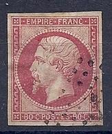 190032886  FRANCIA  YVERT   Nº  24 - 1853-1860 Napoleone III