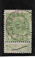 N° 56 TB Obl Centrale 'Nederbrakel' - 1893-1907 Armoiries