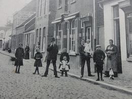Moerbeke-Waas, Dorpstraat 1913 - Moerbeke-Waas