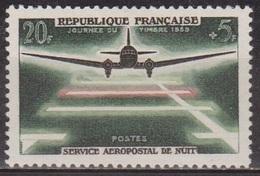 Service Aéropostal De Nuit - FRANCE - Avion Douglas DC-3 - Journée Du Timbre - N° 1196 * - 1959 - Ungebraucht