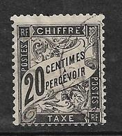 France   Taxe  N°17  Oblitéré    B/TB     Soldé à Moins De  10 %  ! ! ! - 1859-1955 Used