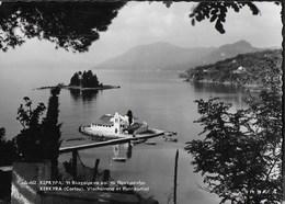 GRECIA - KERKYRA (CORFU') - VLACHAIRENA E PONTIKONISSI - VIAGGIATA 1960 - Grecia