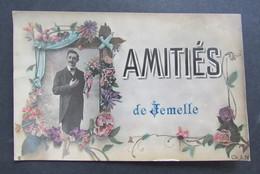 Carte Postale Rochefort Amitiés De Jemelle 1910 - Rochefort
