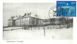Norway - Norge 1999 Card In Serie Tromsø Last Millenium, Folkeskolen Ca 1900 - Stamp First Day - Briefe U. Dokumente