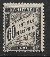 France   Taxe  N°  21  Neuf  *   AB/  2ème Choix   Aspect B/TB     Soldé à Moins De  5 %  ! ! ! - 1859-1955 Neufs