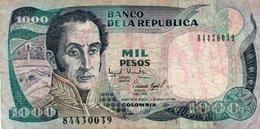COLOMBIA 1000 PESOS ORO 1994 P-438a.1  CIRC. - Colombia