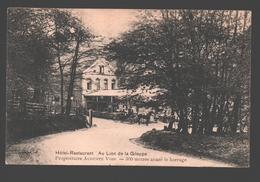 Gileppe - Hôtel-Restaurant Au Lion De La Gileppe - 1921 - Gileppe (Barrage)