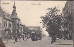 AK Rixdorf Hermannstraße, Gelaufen 1907 - Rixdorf