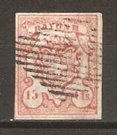 Timbre De 1852 ( Rayon III / N°19 ) - 1843-1852 Timbres Cantonaux Et  Fédéraux